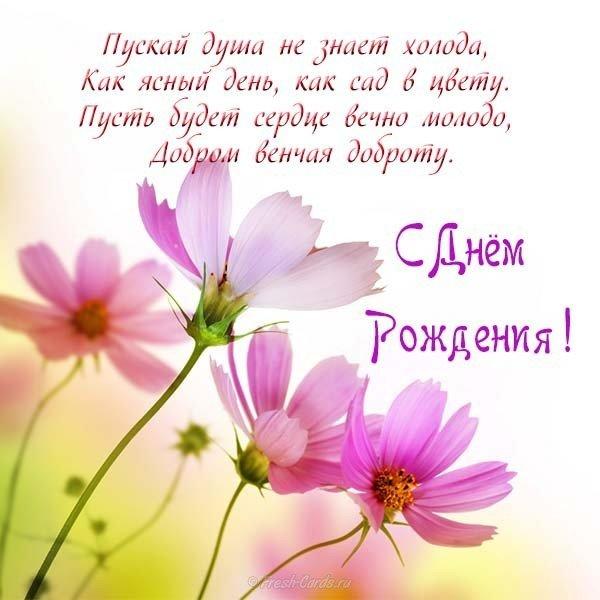 Бесплатная открытка с днем рождения для женщины скачать бесплатно на сайте otkrytkivsem.ru