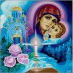 Благовещение Пресвятой Богородицы рисунок скачать бесплатно на сайте otkrytkivsem.ru