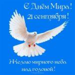 День мира поздравление скачать бесплатно на сайте otkrytkivsem.ru