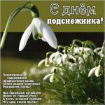 День подснежника картинка скачать бесплатно на сайте otkrytkivsem.ru