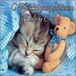 День сна открытка скачать бесплатно на сайте otkrytkivsem.ru