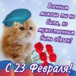 День защитника отечества открытка поздравление скачать бесплатно на сайте otkrytkivsem.ru