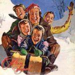 Фото открытка с новым годом старая скачать бесплатно на сайте otkrytkivsem.ru