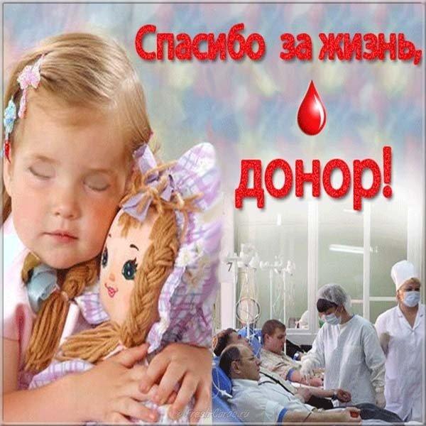 kartinka pozdravlenie s dnem donora
