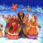 Колядки на руси картинка скачать бесплатно на сайте otkrytkivsem.ru