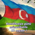 Красивая картинка на день конституции Азербайджана скачать бесплатно на сайте otkrytkivsem.ru