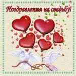 Красивая открытка с днем свадьбы скачать бесплатно скачать бесплатно на сайте otkrytkivsem.ru