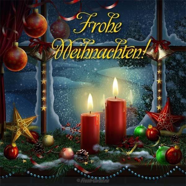 Днем, открытка на немецком