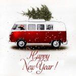 Новогодняя открытка на английском языке скачать бесплатно на сайте otkrytkivsem.ru