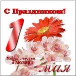 Открытка к 1 мая электронная скачать бесплатно на сайте otkrytkivsem.ru