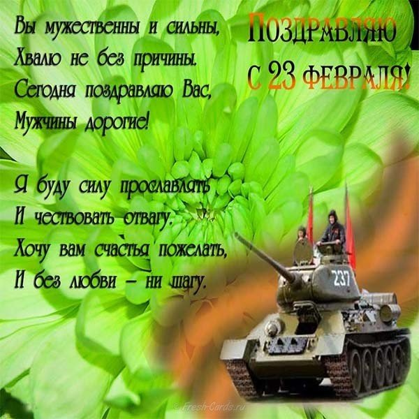otkrytka k fevralya den sovetskoy armii