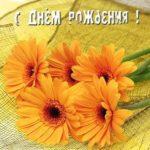 Открытка к дню рождения женщине цветы скачать бесплатно на сайте otkrytkivsem.ru