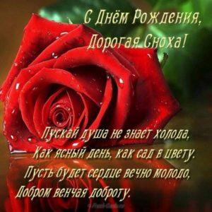 Открытка красивая с днем рождения снохе скачать бесплатно на сайте otkrytkivsem.ru