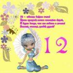 Открытка на день рождения на 12 лет скачать бесплатно на сайте otkrytkivsem.ru