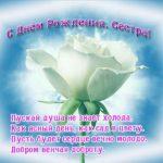 Открытка на день рождения старшей сестре скачать бесплатно на сайте otkrytkivsem.ru