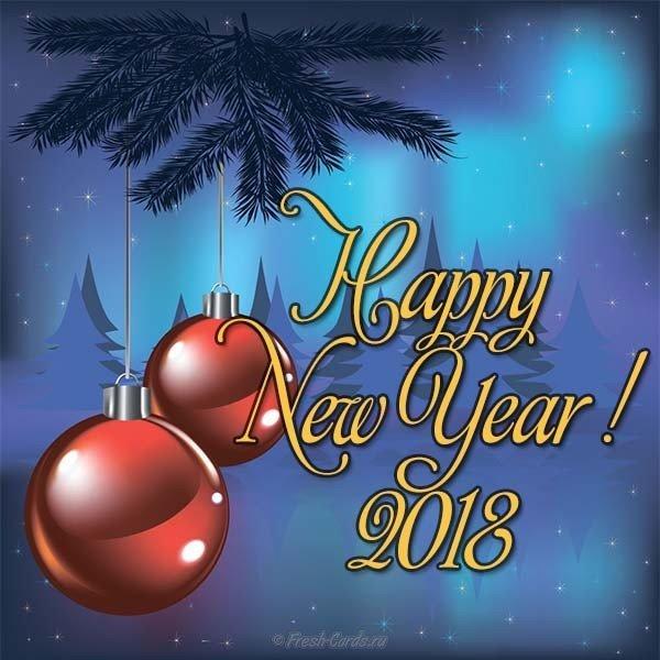 С новым годом открытки на английский, открытки новому годы