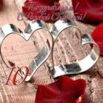 Открытка на розовую свадьбу 10 лет скачать бесплатно на сайте otkrytkivsem.ru