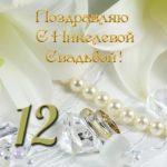 Открытка никелевая свадьба скачать бесплатно на сайте otkrytkivsem.ru