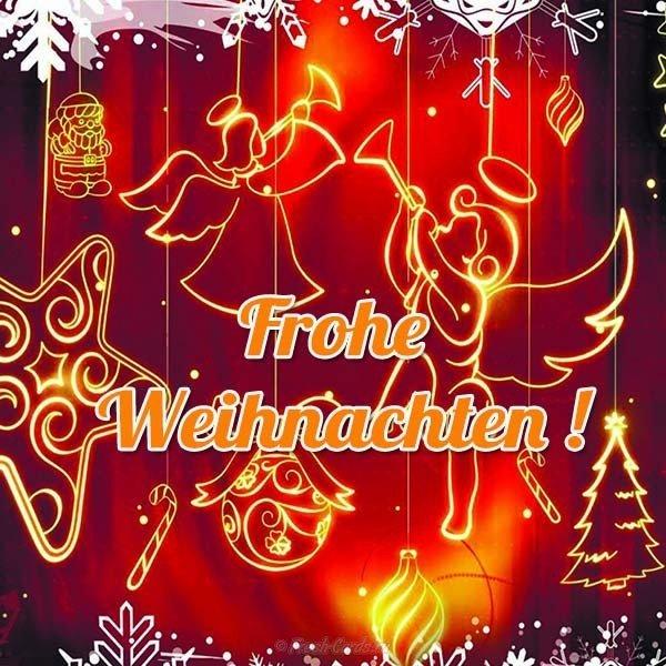 Поздравление с рождеством в стихах на немецком