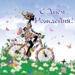 Открытка с днем рождения бабочки скачать бесплатно на сайте otkrytkivsem.ru