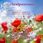 Открытка с днем рождения девочке 4 лет скачать бесплатно на сайте otkrytkivsem.ru