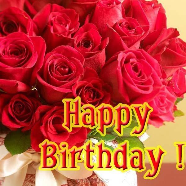 Открытка с днем рождения поздравление на английском
