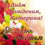 Открытка с днем рождения для Катерины скачать бесплатно на сайте otkrytkivsem.ru