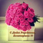 Открытка с днем рождения Екатерина скачать бесплатно на сайте otkrytkivsem.ru