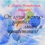 Открытка с днем рождения Игорёк скачать бесплатно на сайте otkrytkivsem.ru