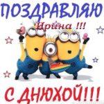 Открытка с днем рождения Ирине прикольная скачать бесплатно на сайте otkrytkivsem.ru