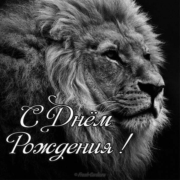 Открытка с днем рождения льву по гороскопу, женщине красивые