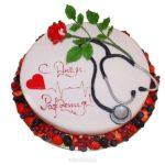 Открытка с днем рождения врачу женщине скачать бесплатно на сайте otkrytkivsem.ru