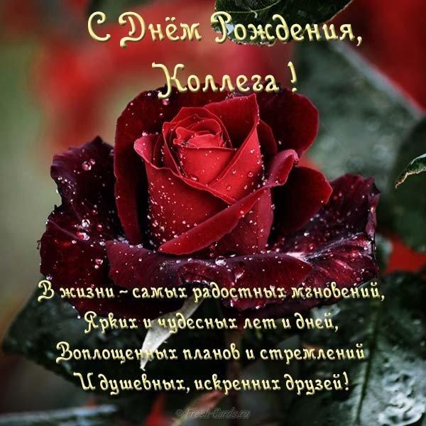 Открытка с днем рождения женщине коллеге бесплатно скачать бесплатно на сайте otkrytkivsem.ru