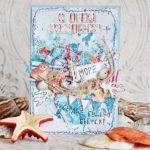 Открытка с днем рождения женщине с морем скачать бесплатно на сайте otkrytkivsem.ru