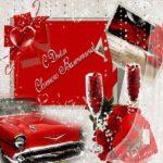Открытка с днем Святого Валентина мужчине скачать скачать бесплатно на сайте otkrytkivsem.ru