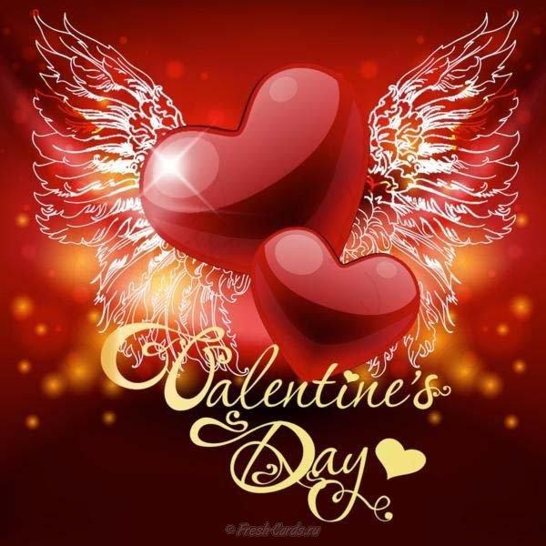 otkrytka s dnem valentina na angllyskom