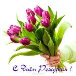 Открытка с днём рождения цветы мужчине скачать бесплатно на сайте otkrytkivsem.ru