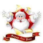 Открытка с новым годом английский язык скачать бесплатно на сайте otkrytkivsem.ru