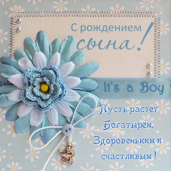 Открытка день, открытки о рождении сыночка