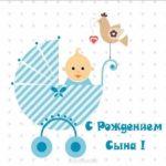 Открытка с рождения сына родителям скачать бесплатно на сайте otkrytkivsem.ru