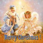 Открытка с рождеством по английски скачать бесплатно на сайте otkrytkivsem.ru