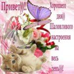 Открытка хорошего дня и шального настроения скачать бесплатно на сайте otkrytkivsem.ru