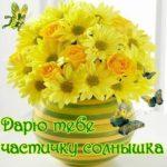 Пожелания доброго утра с ромашками скачать бесплатно на сайте otkrytkivsem.ru