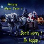 Поздравительная открытка на английском с новым годом скачать бесплатно на сайте otkrytkivsem.ru