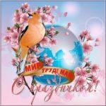 Поздравительная открытка с 1 мая скачать бесплатно на сайте otkrytkivsem.ru