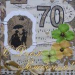 Поздравительная открытка с 70 летием мужчине скачать бесплатно на сайте otkrytkivsem.ru