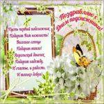 Поздравительная открытка с днем подснежника скачать бесплатно на сайте otkrytkivsem.ru