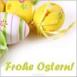Поздравительная открытка с Пасхой на немецком скачать бесплатно на сайте otkrytkivsem.ru