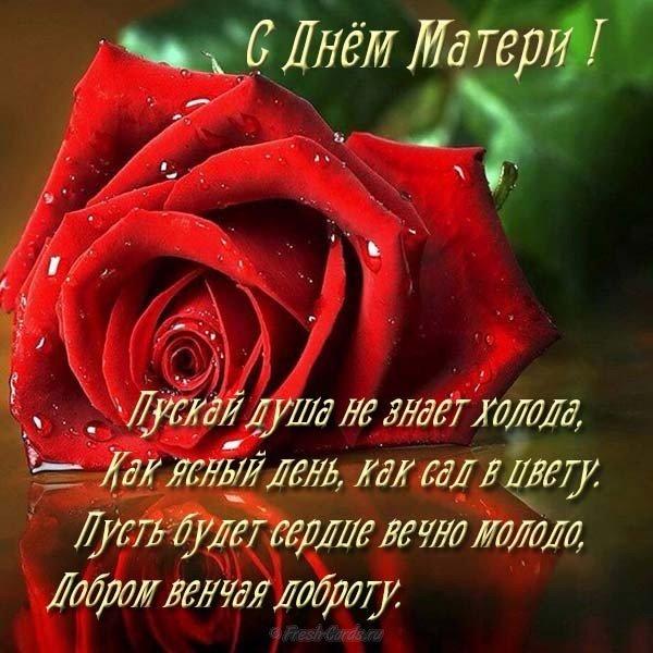 Поздравление ко дню матери в картинке скачать бесплатно на сайте otkrytkivsem.ru