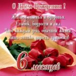 Поздравление с полугодием девочки открытка скачать бесплатно на сайте otkrytkivsem.ru